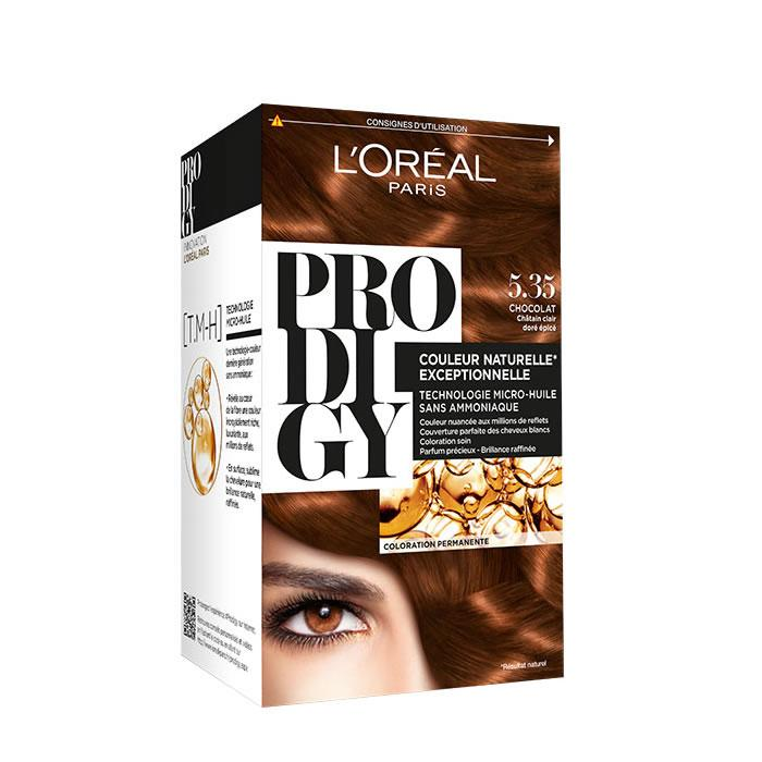 Loreal Permanent Hair Color Prodigy 5.35 Chocolat