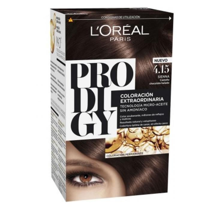 Loreal Permanent Hair Color Prodigy 4.15 Sienna