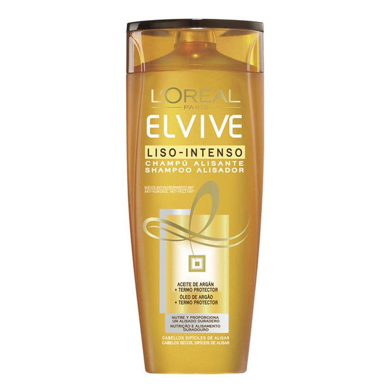 Loreal Elvive Liso Intenso Smoothing Shampoo 370ml
