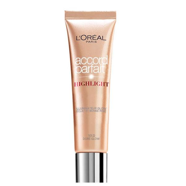 Loreal Accord Parfait Highlight Fluide 101D Éclat Doré