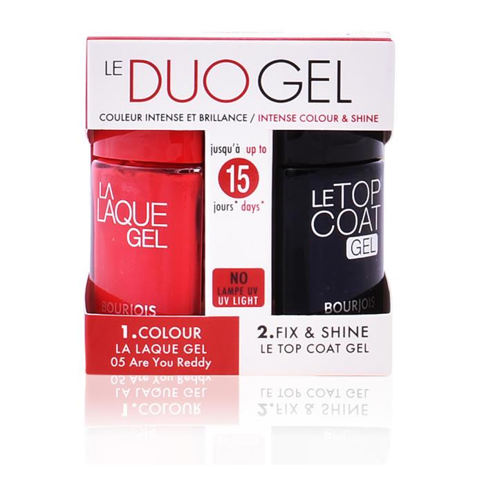 Bourjois La Laque Gel 05 Are You Reddy Duo