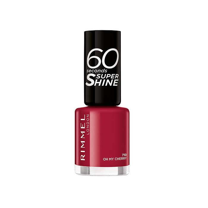Rimmel 60 Seconds Super Shine 710 Oh My Cherry