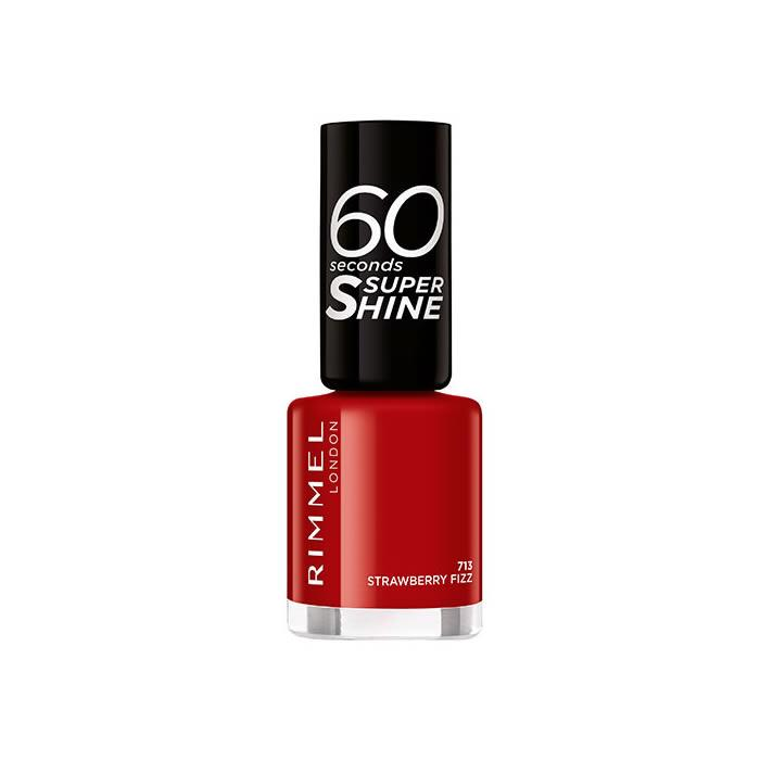 Rimmel 60 Seconds Super Shine 713 Strawberry Fizz
