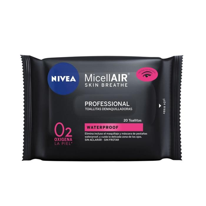 Nivea Micellair Gentle Cleansing Wipes 20 Units