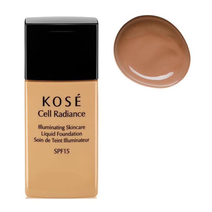 Kosé Cell Radiance Liquid Foundation Spf15 204 Light Tan 30ml