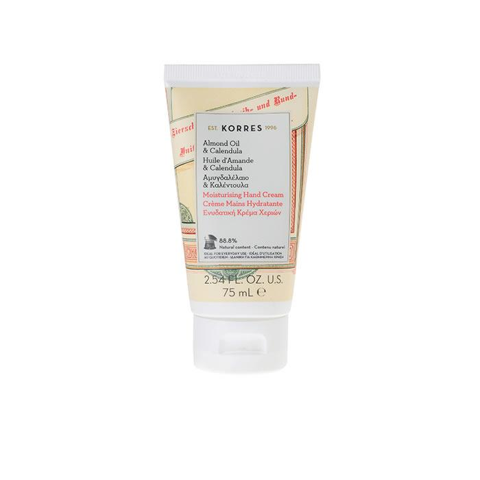 Korres Moisturising Han Cream Almond Oil & Calendula 75ml