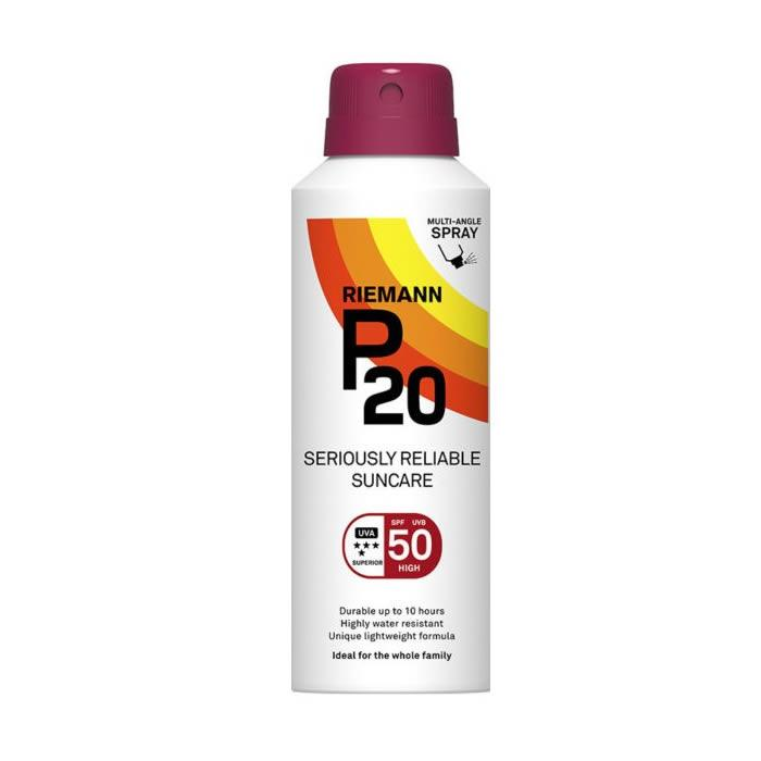 Riemann P20 Sun Protection Spray Spf50 150ml