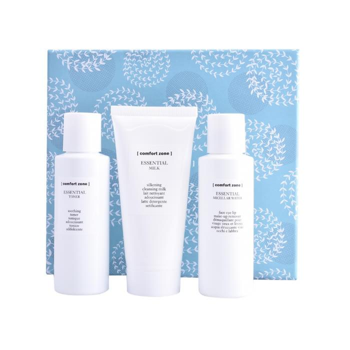 Comfort Zone Essential Care Sikening Cleansing Milk 100ml Set 3 Pieces 2018