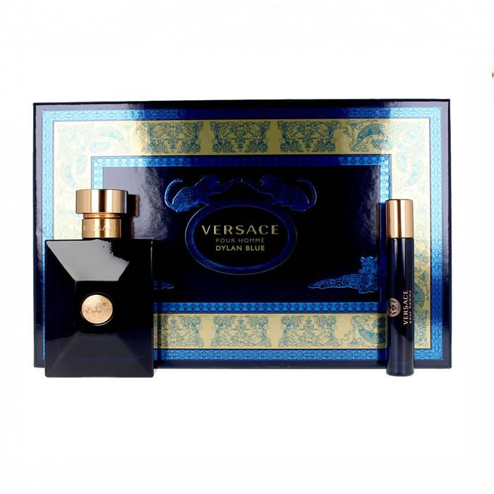 Versace Dylan Blue Eau De Toilette Spray 100ml Set 3 Pieces 2019