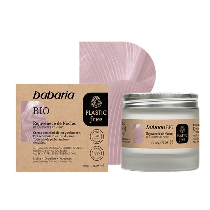 Babaria Bio Rejuvenating Night Cream 50ml