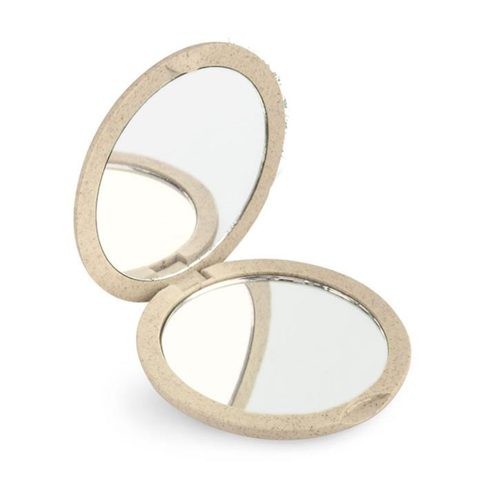 Beter Natural Fiber Double Mirror x4 Magnification Beige
