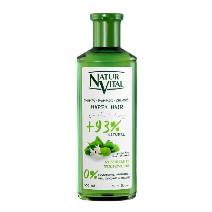 Naturaleza Y Vida Happy Hair Reinforcing 0% Shampoo 500ml