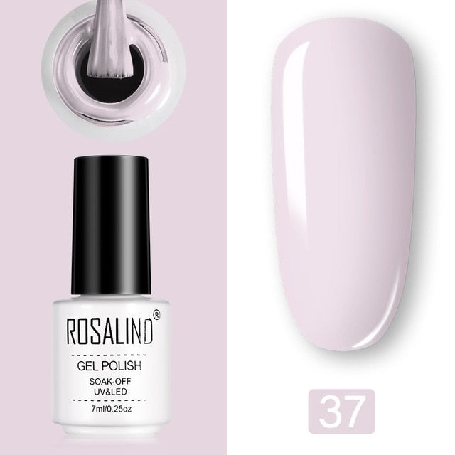 Rosalind 7ML Pure colors series Nail Gel Polish™