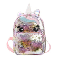 Cartable Licorne Paillette Coloré