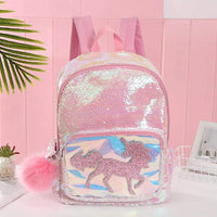 Cartable Licorne Pompon