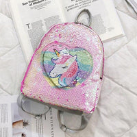 Cartable Licorne Amour Rose