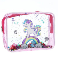 Trousse Licorne Toilette Rose