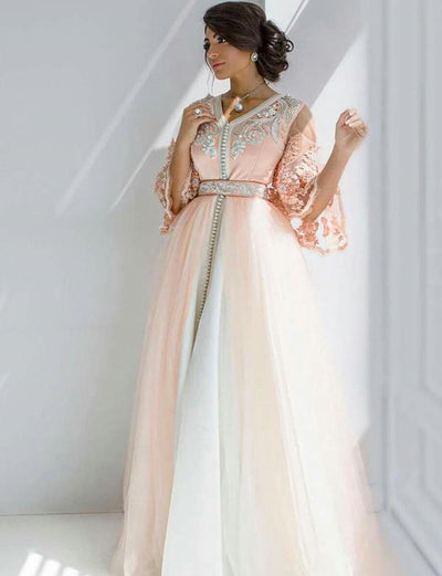 Caftan Robe Rose