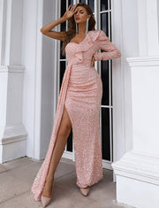 Robe Caftan Rose