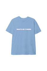 'What's Up' Baby Blue Shirt