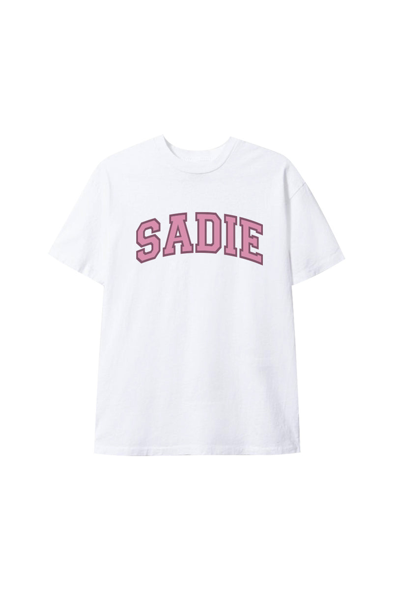 'Sadie' White Shirt