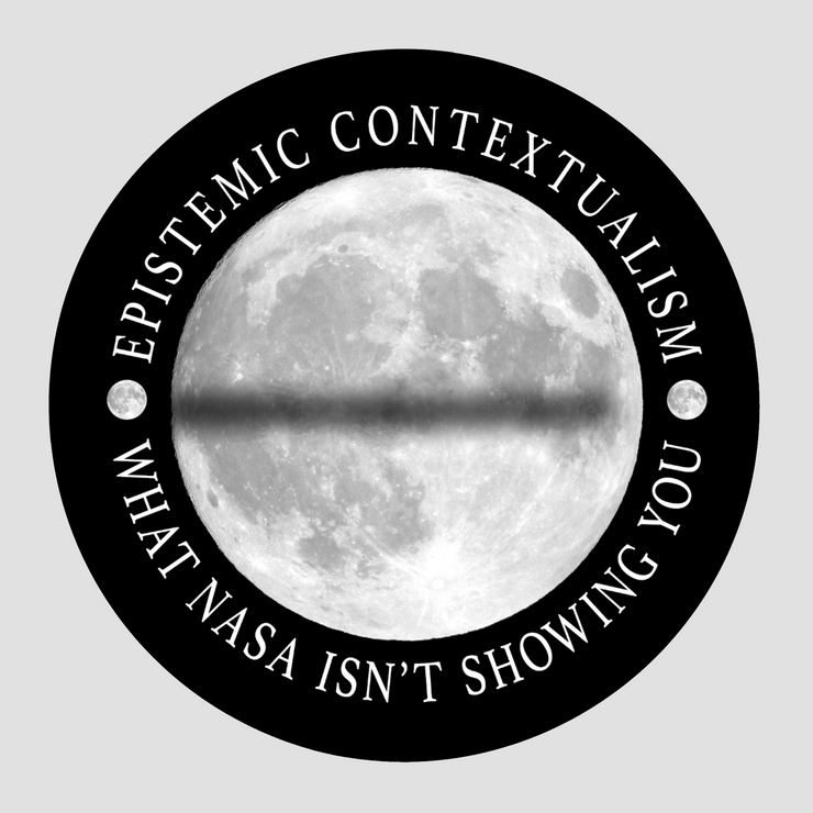 Flat Earth Lunar Eclipse Sticker