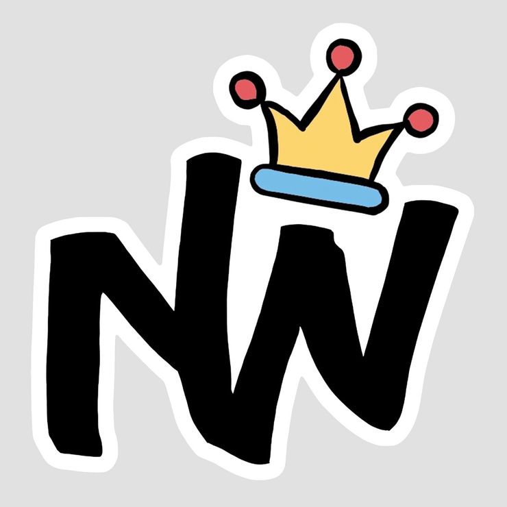 NW Crown Logo Sticker