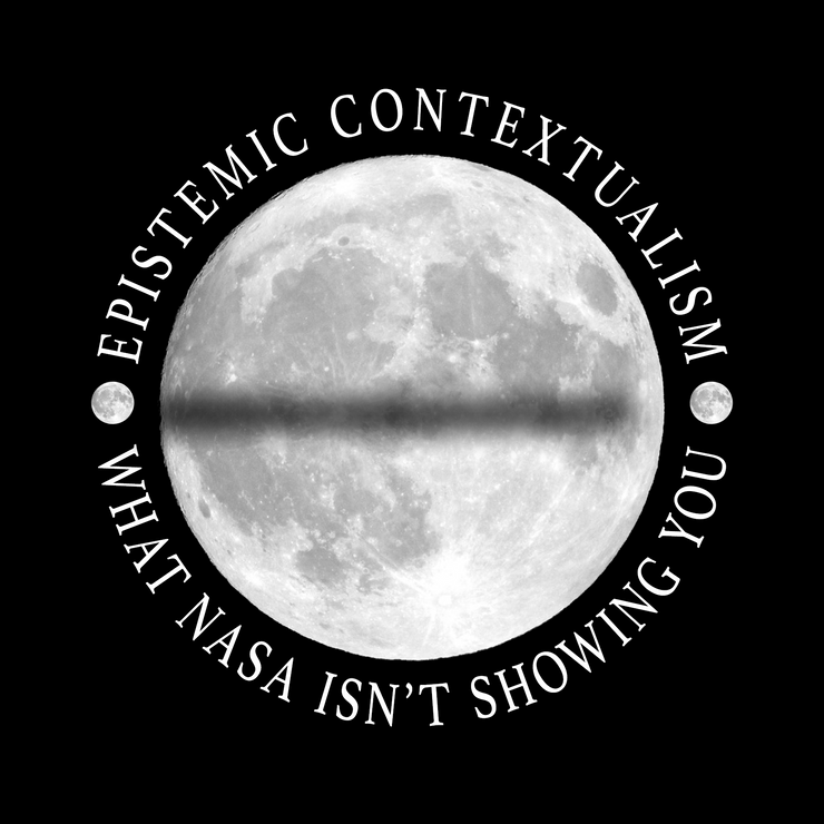 Flat Earth Lunar Eclipse T-Shirt