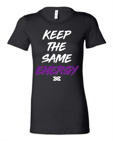 Dez Bryant Keep The Same Energy Women's Crew Neck (BLK)