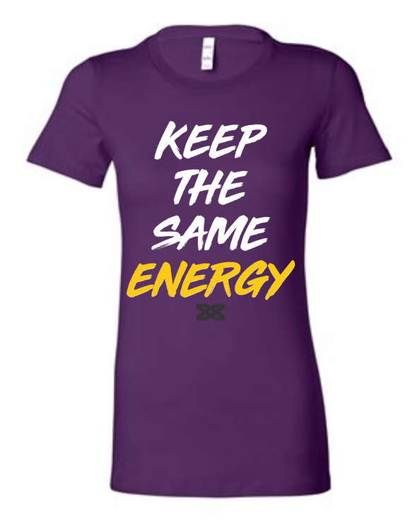 Dez Bryant Keep The Same Energy Women's Crew Neck (PUR)