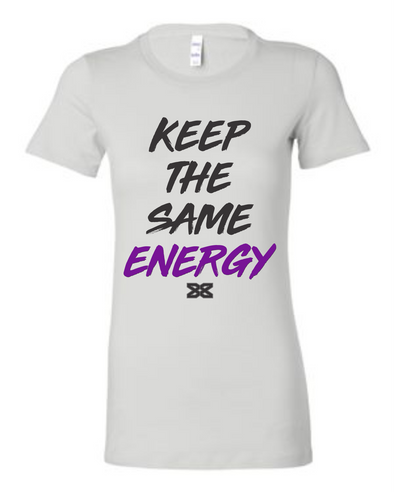 Dez Bryant Keep The Same Energy Women's Crew Neck (WHT)