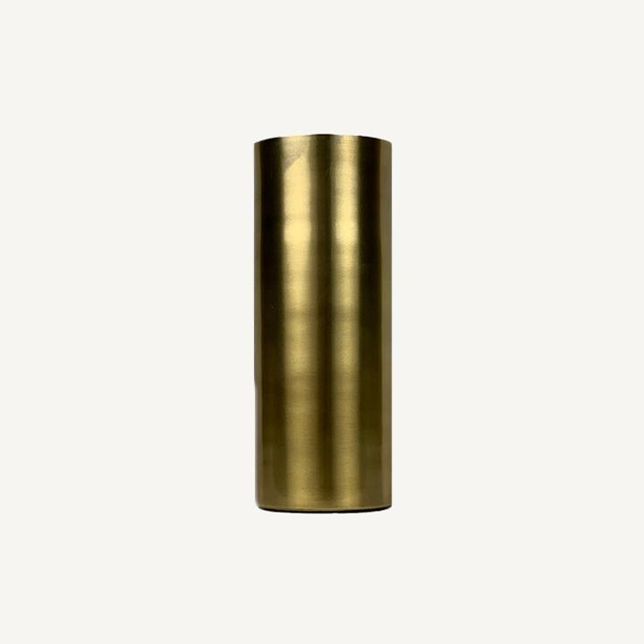 Brass Tall Cylinder