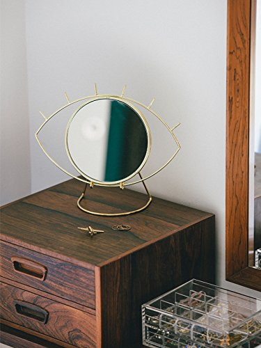 Cyclops Table Mirror Gold