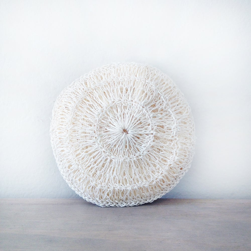 Handmade Crocheted Maguey Body Sponge