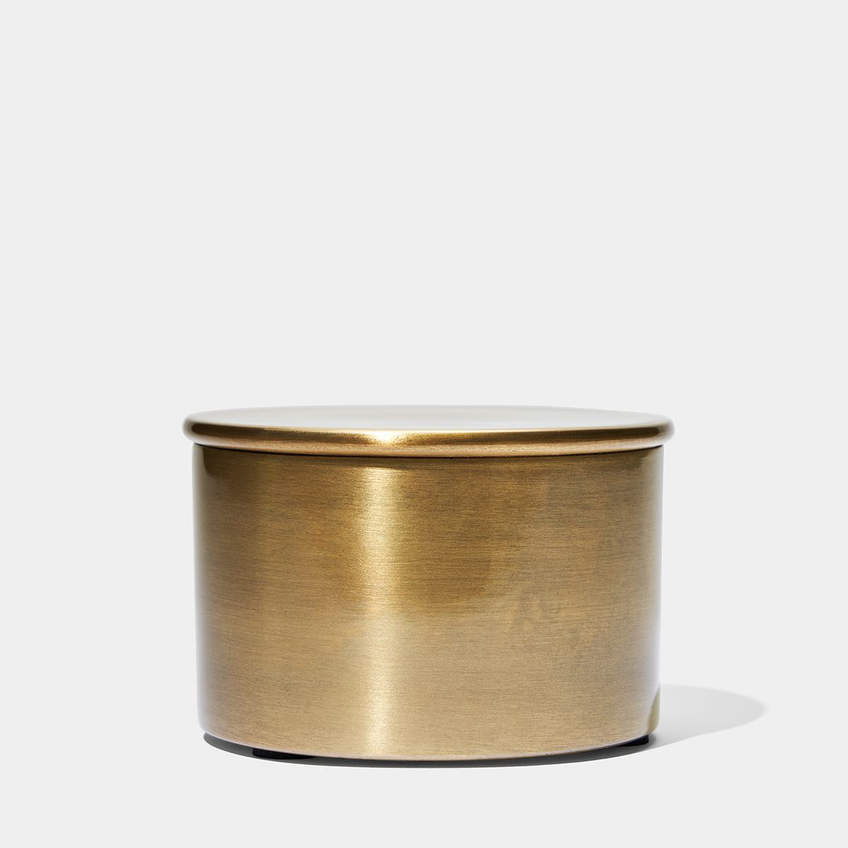 Brass Cache With Lid