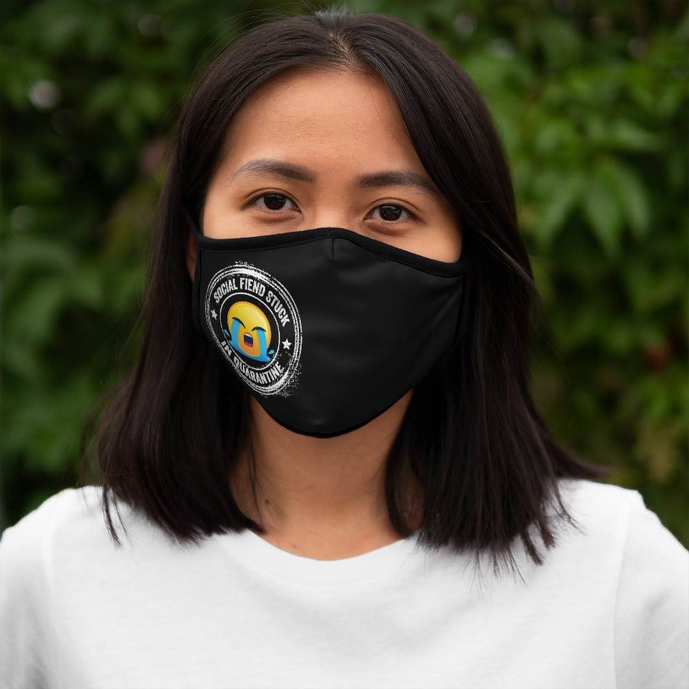 Social Fiend Stuck In Quarantine Face Mask - The 2020 Experience