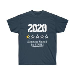 2020 Review Half Star Unisex Ultra Cotton Tee - The 2020 Experience