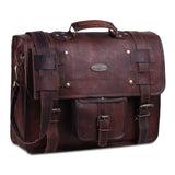 Nashville Leather Laptop Crossbody Distressed Bag