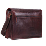Full Flap Leather Messenger Bag