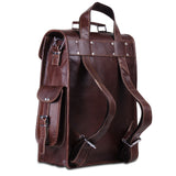 Convertible Leather Briefcase Backpack