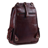 Genuine Leather Full Grain Leather Backpack - Large