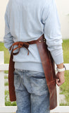 Model With Full Grain Leather Work Apron