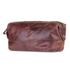 Full Grain Toiletry Bag for Men Women