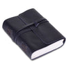 Plain Leather Notebook Journal with Leather Strap