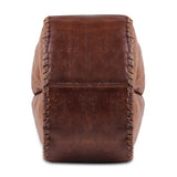 Hand stitched Leather Messenger Bag with Adjustable Strap