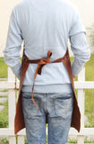 Genuine Full Grain Leather Work Apron