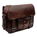Genuine Leather Vintage Messenger Shoulder Bag