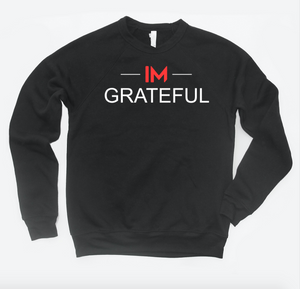 im grateful - crewneck