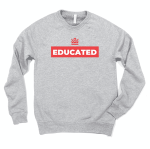 educated - crewneck