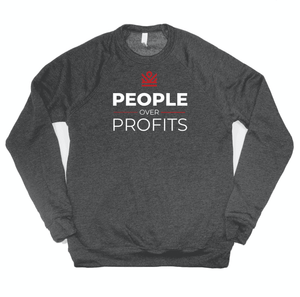 people over profits